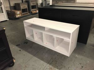 White ivory oak TV Stand for Sale in Houston, TX
