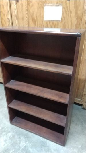 Wooden bookcase for Sale in Durham, NC