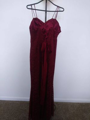 Red Long Dress Lace Party Birthday Wedding for Sale in IND CRK VLG, FL