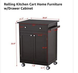Rolling Kitchen cart for Sale in Chicago, IL