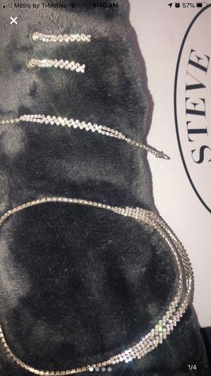 Diamond Jewelry Set for Sale in Hesperia, CA