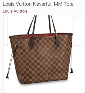 Neverfull Louis Vuitton Women's Hand bag for Sale in Baltimore, MD