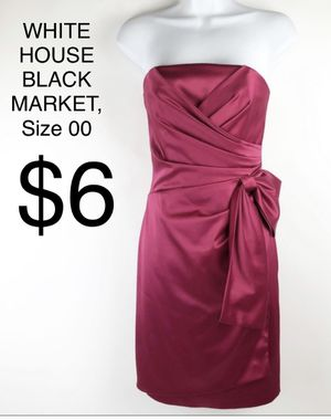 WHITE HOUSE BLACK MARKET, Gorgeous Pink Strapless Dress, Size 00 for Sale in Phoenix, AZ