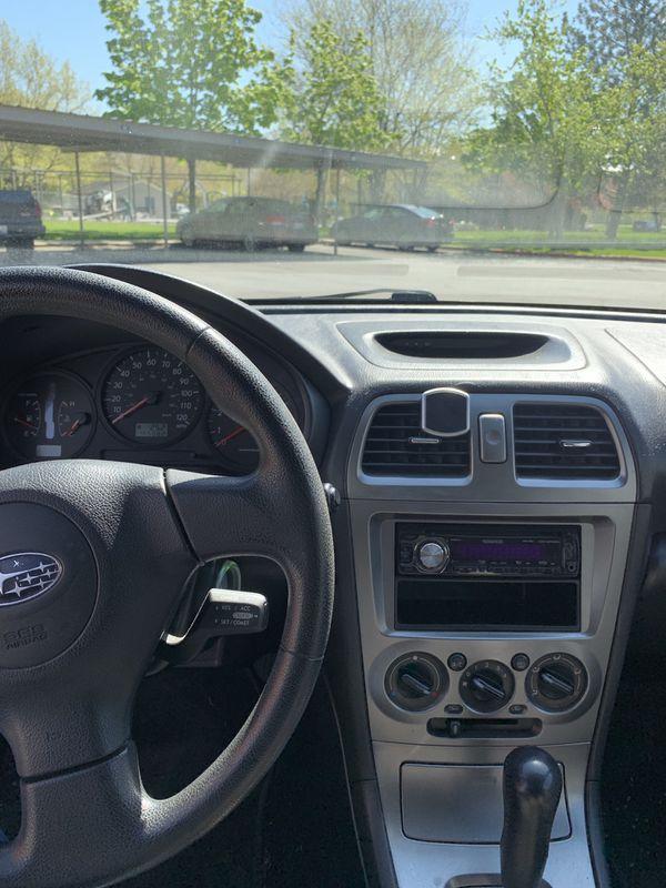2006 Subaru Impreza wagoon