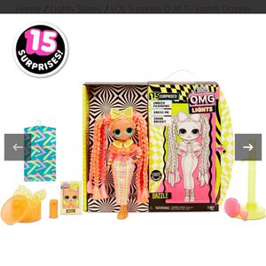 LOL Surprise O.M.G. Lights Dazzle Fashion Doll for Sale in Glendale, CA