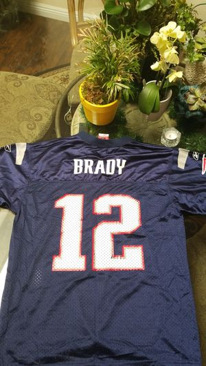 Youth large Brady Jersey used, shows wear like a tough man for Sale in Santa Ana, CA