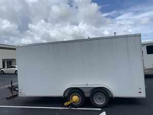 2019 Enclosed Trailer 7x18 Covered Wagon for Sale in Boca Raton, FL