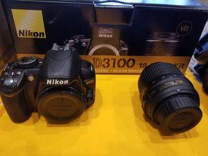 Nikon D3100 18-55 VR Kit 2 lenses and Tripod for Sale in Orlando, FL
