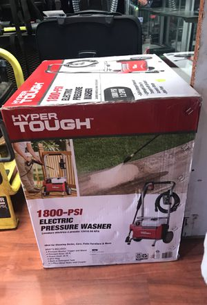 Hyper Tough 1800 PSI Electric Pressure Washer Brand NEW! for Sale in Yardley, PA