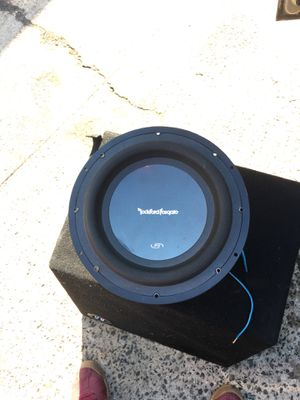 P3 Rockford fosgate 10 for Sale in Durham, NC