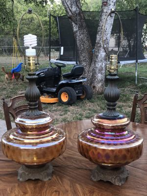 Table lamps for Sale in San Antonio, TX