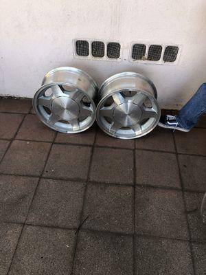 "16"" aluminum alloy GMC stock rims for Sale in San Bernardino, CA"