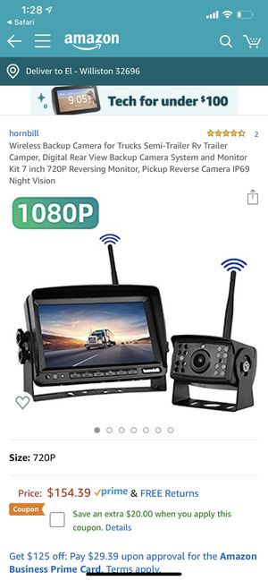 Back up camera for Sale in Williston, FL
