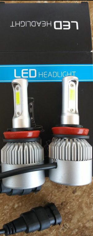 Car Led Auto Led Headlight Led lights Low Beam, High Beam, Fogs Lights, Or Daytime Running Lights.🎈1 YEAR WARRANTY🎈 Luces Led for Sale in Santa Ana, CA