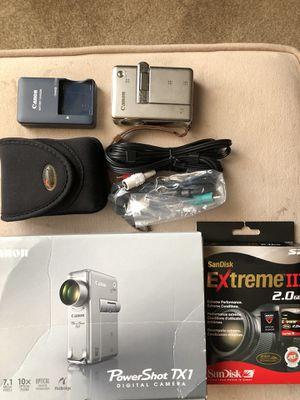 Cannon digital camera - all included for Sale in Lincolnia, VA