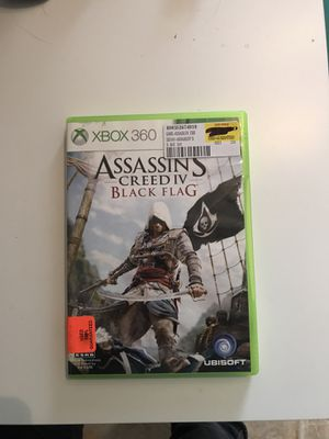 xbox 360 game assassins creed black flag for Sale in Webster Groves, MO