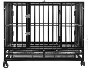 Heavy Duty Steel Dog Crate, Cage, or Kennel for Sale in Miami, FL