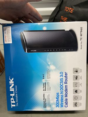 Cable modem and router works for Comcast for Sale in Portland, OR