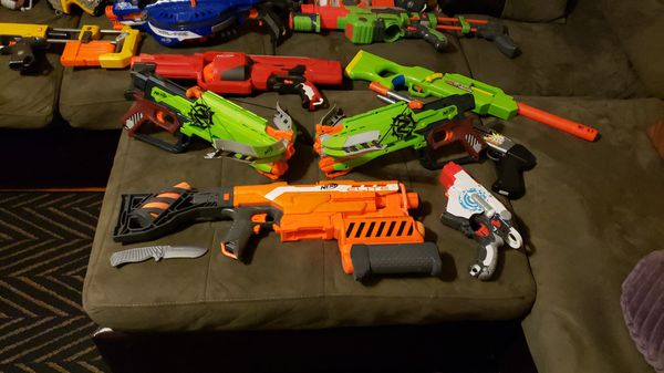 NERF WAR!!!!!! lot of nerf guns READ DESCRIPTION