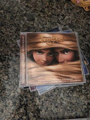 Disney soundtrack cd tangled rapunzel for Sale in Murrieta, CA