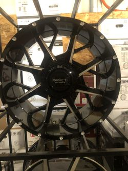 BRAND NEW Black and Machined 20 inch rims for only $1000!!! for Sale in Tacoma,  WA