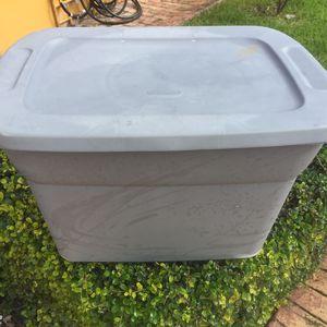 Sterlite Storage Container set in Gray $17 for Sale in Miami, FL