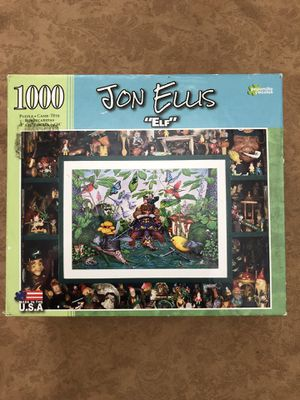 Elf Puzzle Board Game Complete Price is Negotiable for Sale in San Diego, CA