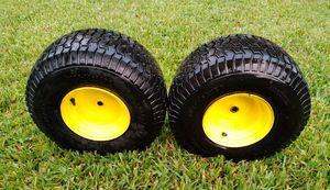 John Deere Lawn Tractor Wheels w/ Tires for Sale in Orlando, FL
