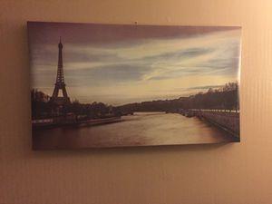 Paris canvas print for Sale in Danville, PA