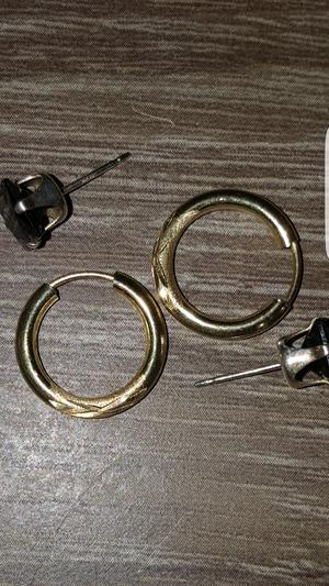 Jewelry gold earings for Sale in Phoenix, AZ