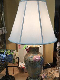 Antique Floral Porcelain Lamp for Sale in Bellevue,  WA