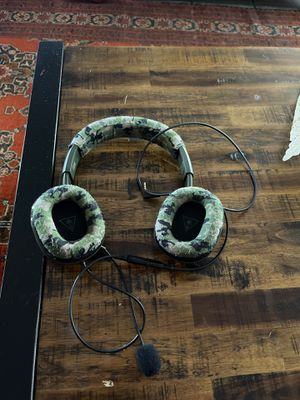 Turtle beach headset with headphone jack for Sale in San Diego, CA