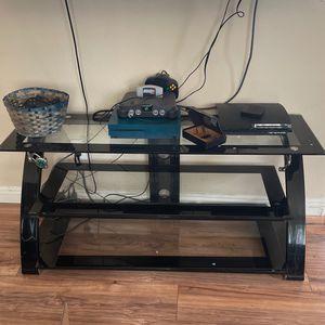 Glass Tv Stand for Sale in Chula Vista, CA