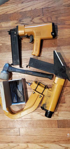 BOSTITCH HARDWOOD STAPLER AND CONCRETE NAIL GUN for Sale in Arlington, TX