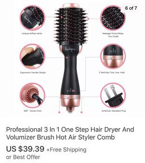 Hair dryer brush for Sale in Anaheim, CA