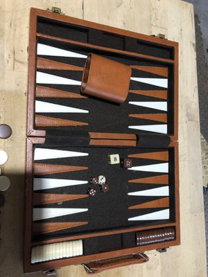 backgammon board game for Sale in San Francisco, CA