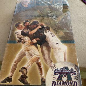 Dbacks World Champ VHS Tape New-never Opened for Sale in Glendale, AZ