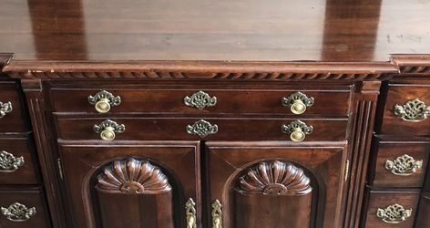 Victorian Style Wood Dresser with Removable Mirror for Sale in Falls Church,  VA
