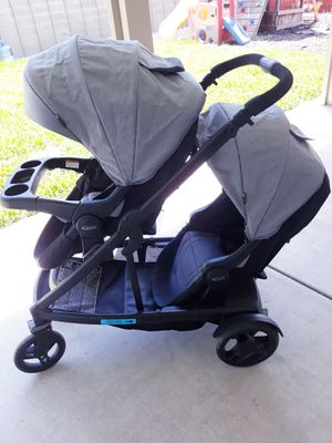 Graco Uno2Duo double stroller for Sale in Moreno Valley, CA