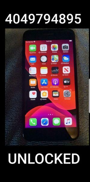 Unlocked iPhone 7 Plus 128GB Black for Sale in Atlanta, GA