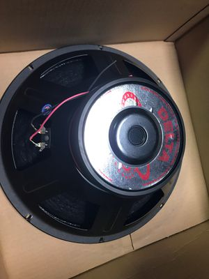 """Very nice pair set of two eminence delta 15 inch speaker 15"""" woofer speakers bass PA guitar for Sale in Lakeside, CA"""