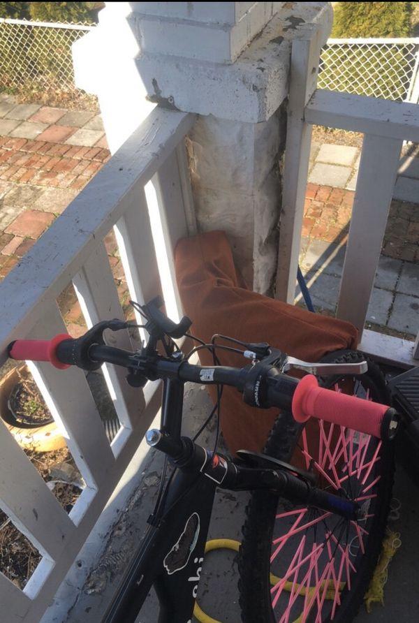 Mountain bike and Wheelie bike