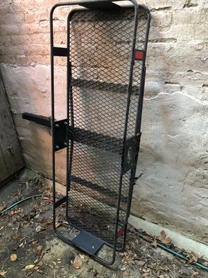 Heavy duty hitch rack, extension, cargo box and straps for Sale in Washington, DC