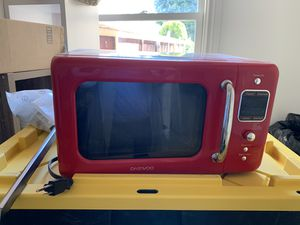 Retro Microwave - like new! for Sale in San Francisco, CA