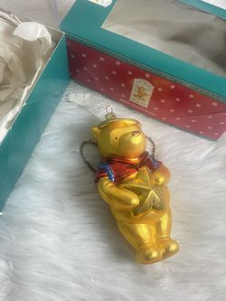 Classic Pooh Christmas Glass Ornament 1998 for Sale in Chino,  CA