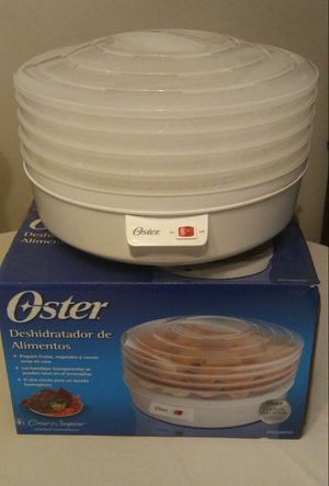 Oster 4-Tray Electric Food Dehydrator. Complete with manual. Great condition for Sale in Indianapolis, IN