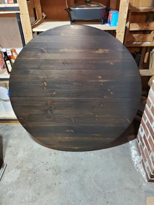 Kitchen table with leaf for Sale in Tacoma, WA