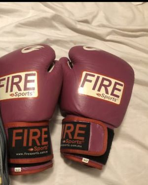 Fire Boxing gloves 14oz for Sale in Escondido, CA