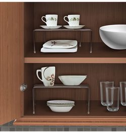 Sorbus Pantry Cabinet Organizers — Features Stackable Expandable Shelves Made of Steel — Ideal for Pantry, Cabinet, Countertop, and Much More in Kitch for Sale in Las Vegas,  NV