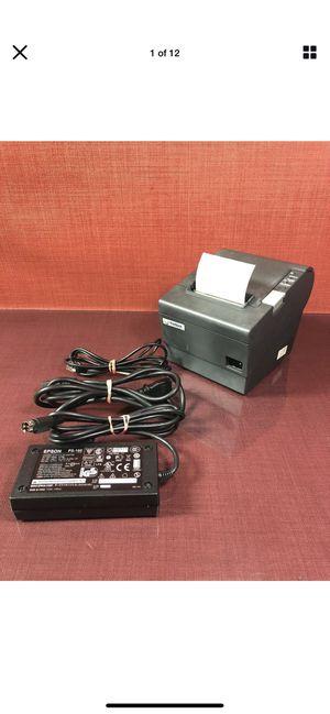 Epson TM-T88V Ethernet S01 E04 Thermal Receipt Printer w/PS180 Power Supply#1954 for Sale in Irvine, CA